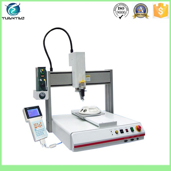 Automated Wood Glue Dispenser ~ Factory automatic glue dispenser machine for mobile phone