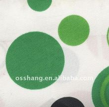300D bubble printed polyester/cotton oxford fabric