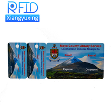 Factory custom printing smart passive rfid paper ticket card for Metro / Event / Business