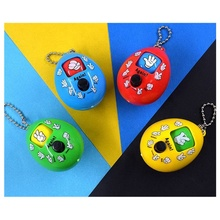solid colour wholesale kid mini toys surprise plastic egg Machine finger guessing <strong>games</strong> with chain