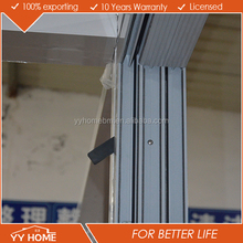YY Home office sliding glass window office sliding window metal sliding window