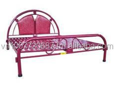 Metal Bed, suitable for Philippines market.