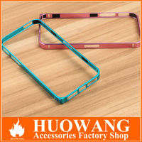Luxury Ultra-thin 0.7mm screw metal bumper case for iphone 5 / 5s