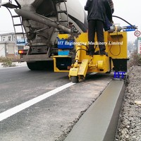 2016 New Designed Concrete Kerbing Machine