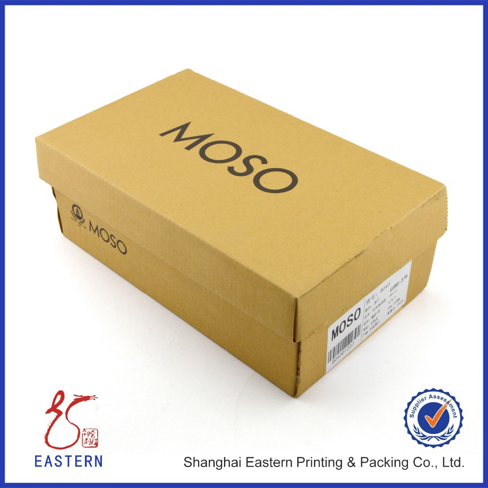 Custom Carton Shoe Box With Logo Printed