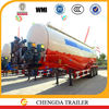 3 axles Chengda bulk cement semitrailer in Tanzania
