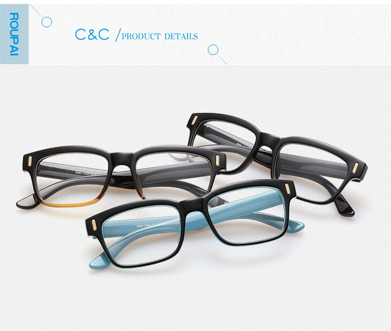 Brand Fashion Optical Glasses Frame Women Clear Lens Optik Tag Nerd Glasses China Myopia Eye Glasses Frames for Women CC5085