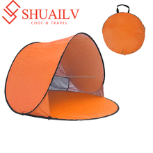 High Quality Silver Coating Shade Beach Tents 1-2 Person Couples Summer Outdoor Travel Luxury Camping Tents