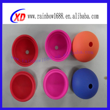 2014 Cheap silicone ice ball mold, ice cube tray with lid