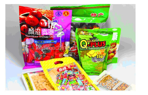 kedi machinery price rotary packing machine with sealing for snack food