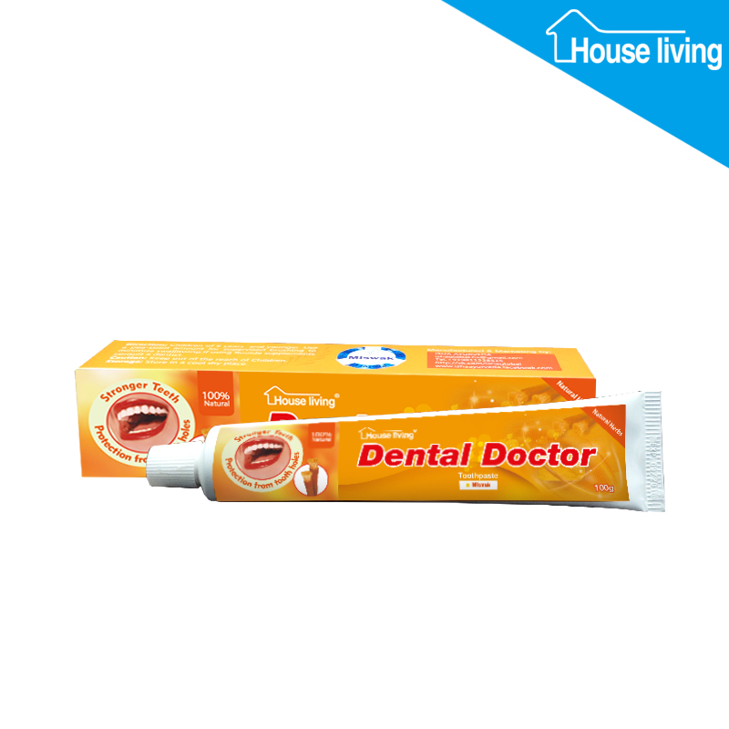 Bulk selling halal approved 100% natural miswak toothpaste