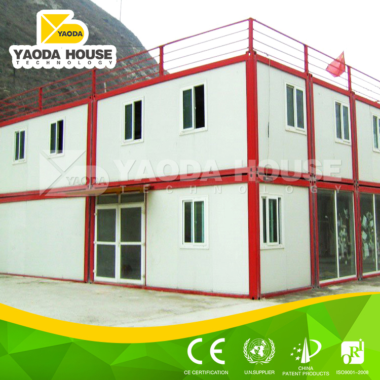 Prefabricated container house office motel buildings