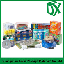 nice/colored printing plastic plastic wrap for soap