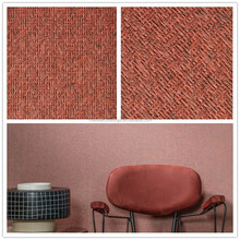 2017 Beautiful Red Natural Texture Wallaovering Of Hangzhou Textile,Hand Made Grass Wallpaper For Modern Restaurant Decoration