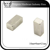 factory price long thin V shaped neodymium magnet from china