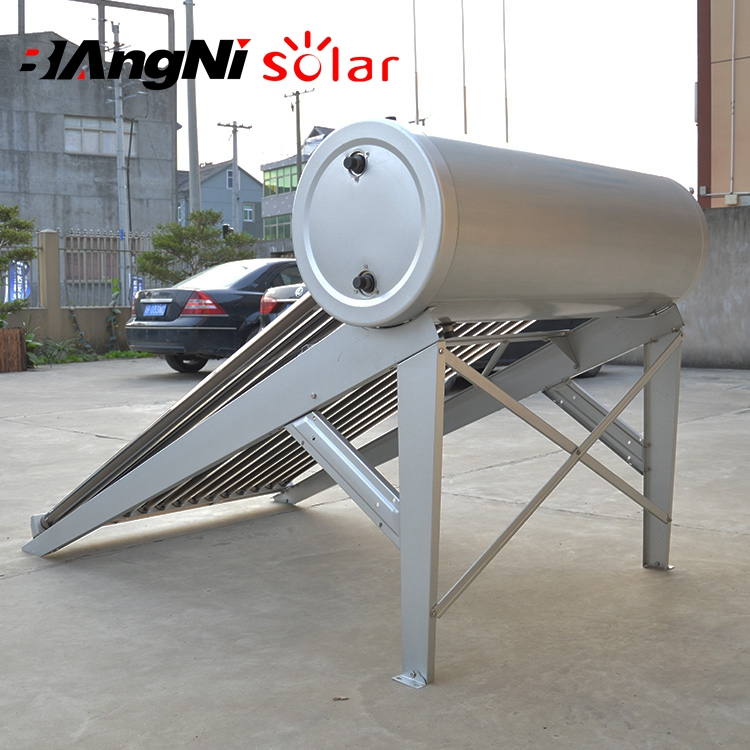 Attractive Design 55Mm Polyurethane Insulatione With Electrical Heating Element Solar Water Heater