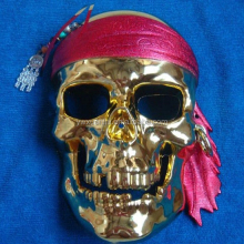 Fashion party mask Caribbean pirates skull mask dance face mask Halloween mask