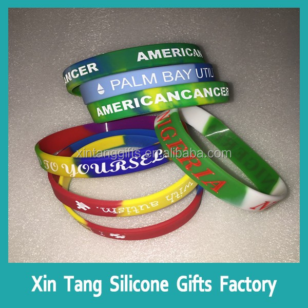 cheap personalized scented silicone bracelet, silicone wristband, rubber band