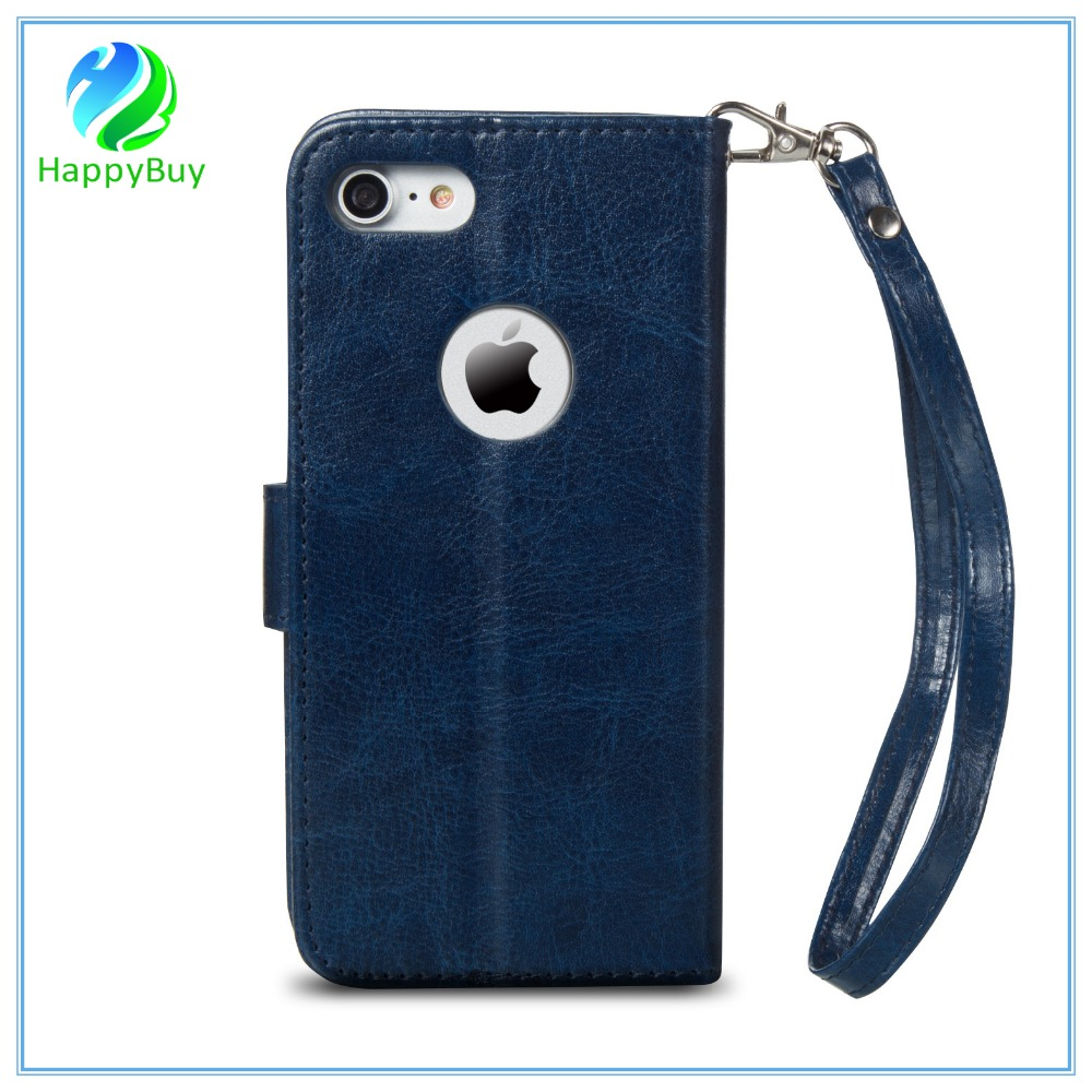 High quality leather phone case for iphone5/5SE,6/6s/6 plus,7/7 plus with multifunctional card slot