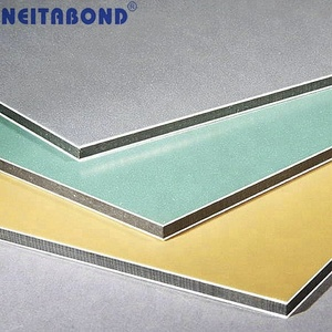 Wall Decorative Indoor Building Materials PVDF Coating Aluminium Composite Panel