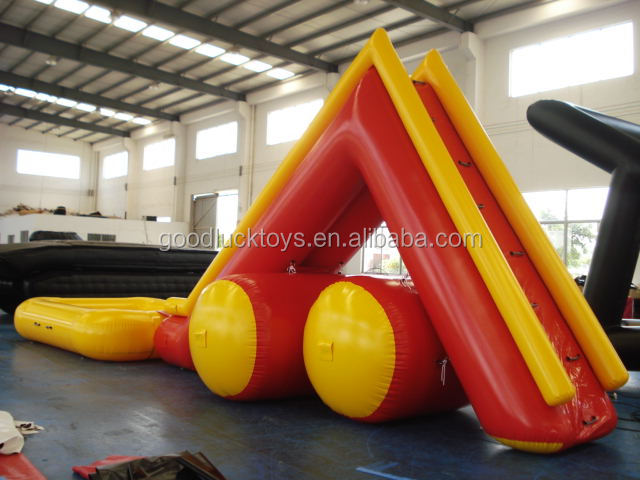 Kids/ Adults Inflatable Water Slide With Pool For Inflatable Water Games