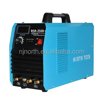 high quality energy storage stud welding machine RSR2500 with stud gun for stud welding