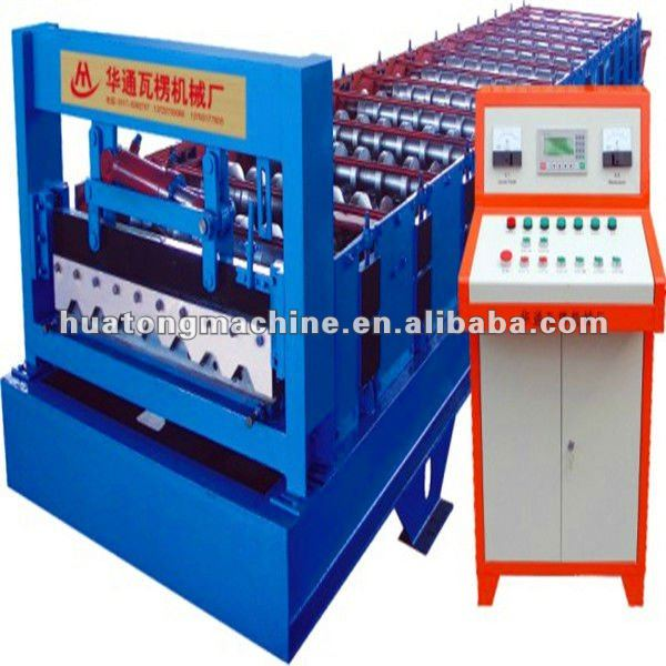 European style steel door frame panel making machine