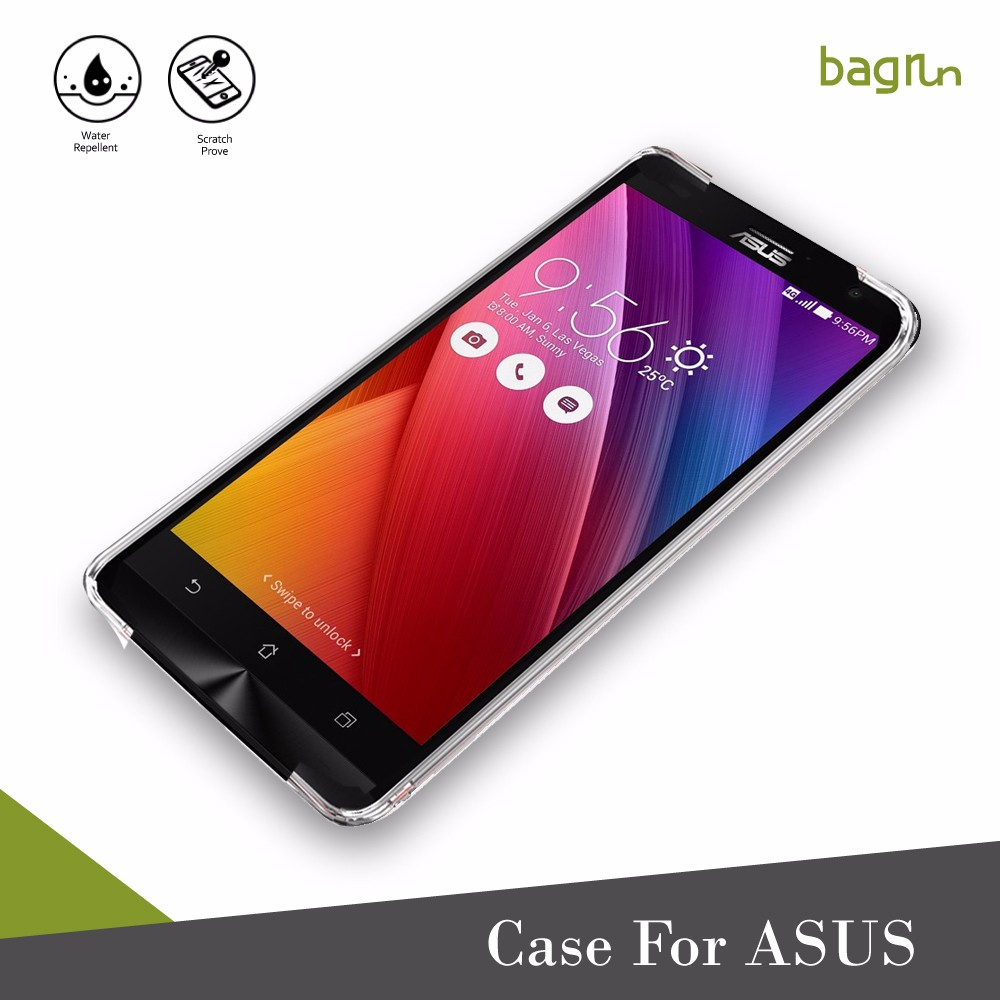 Ultra-thin Transparent Clear TPU Cell Phone Case Back Cover For ASUS
