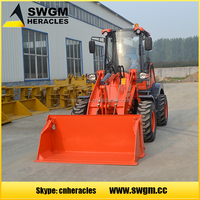 HR918H With EPA CE GOST ISO certificate wheel loader small Garden Tractor With Front Loader