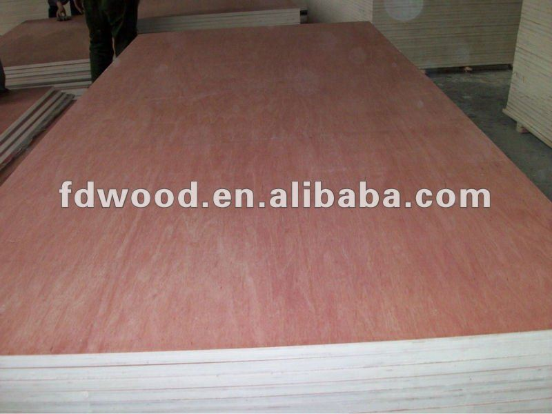 18mm bintangor faced plywood for fourniture used
