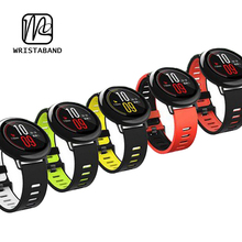 22MM silicone watch band regular silicone rubber watch strap suit for 22MM smartwatch