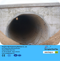 nestable corrugated metal pipe