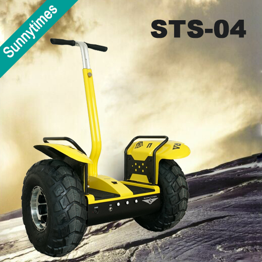 Off road big wheel electric mobility with CE approval 2 wheel hoverboard 2000w electric personal transporter scooter