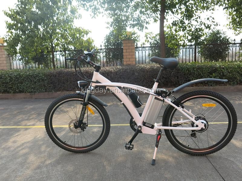 Aluminum Alloy frame electric mountain bicycle with EN15194
