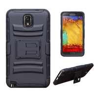 3 in 1 Super Durable Combo Robot Cover Armor Protective Mobile Phone Case for Samsung Galaxy Note 3