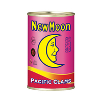 New Moon Canned Pacific Clams Meat