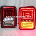 2008-2015 Year Jeep Chrysler Wrangler LED Tail Lights