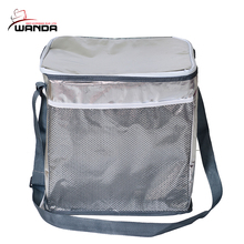Hot sale ultra disposable insulated food wine cooler bag