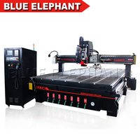 New! Multi Function Woodworking Machine / Multi CNC Cutting machine with Oscillating Knife