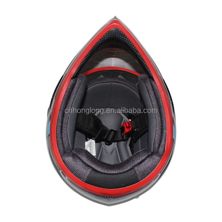 Motorcycle helmet with visor---ECE/DOT Approved