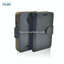 Wholesale wallet PU Leather Flip Cover case for HTC Desire 501