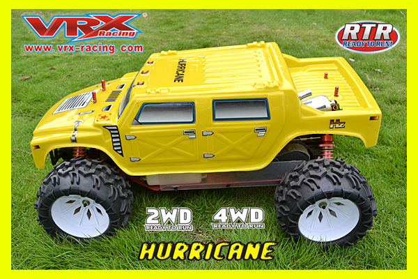 30cc 4WD 1/5 Scale Gas Powered RC CAR, Big gas Car