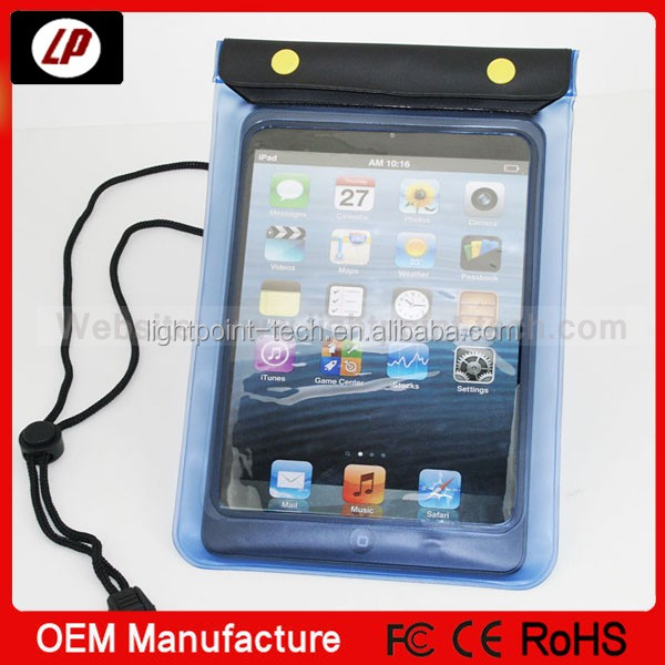 Waterproof case for ipad Plastic bags for ipad mini protective shell
