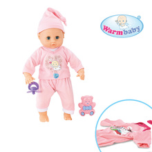 Dress up games musical toy cotton body silicone doll heads arms and legs for sale