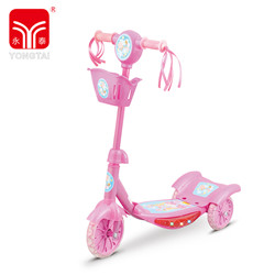 Best Seller Colorful 3 Wheel Kids Scooters, PVC Wheel Adjustable Kick Scooter With Flashing Light And Music