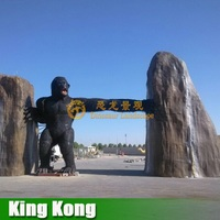 Amusement Park Huge Size Simulation Animal King Kong