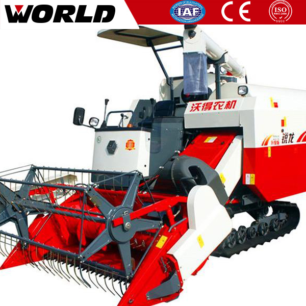 88hp agricultural machinery combine harvester prices with korea HST