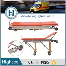 automatic loading adjustable ambulance chair stretcher