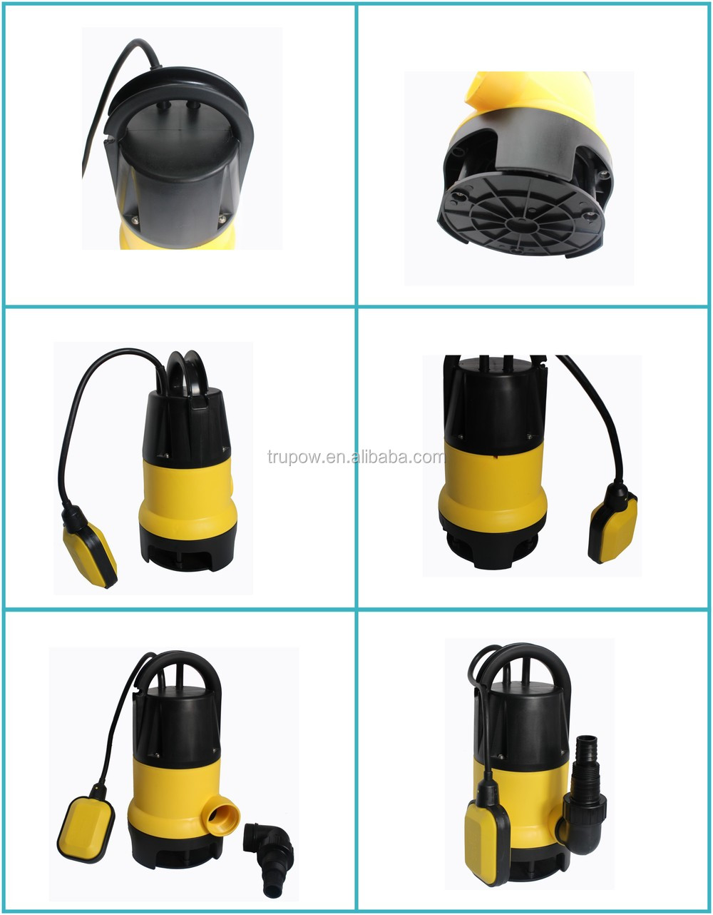 Fully Domestic Garden Submersible Drainage Pump