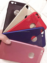 hot sell phone case Ultra thin Breathable mesh PC case For Iphone5S